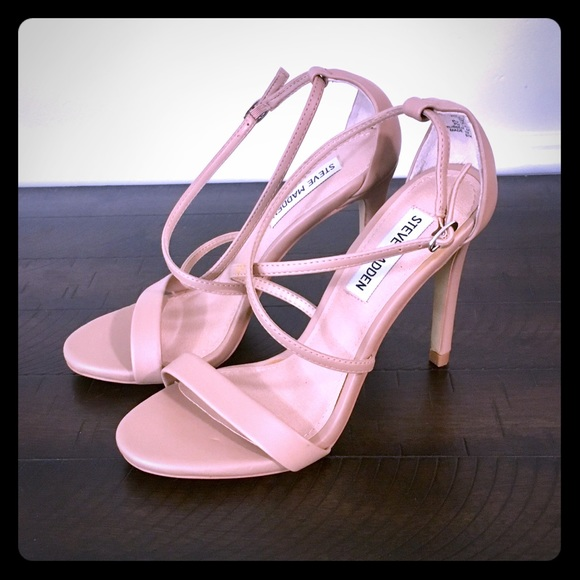 064d798505f Steve Madden Nude Colored Strappy Heels